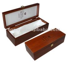 Wooden   champagne   gift   box