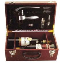 Sale! Elegant Champagne Wine Box Cheap  Wooden  Wine  Crate s with Silk Tray