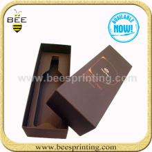 luxury  handmade   box  red wine package
