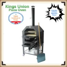 Outdoor Wood Fired Baking Pizza Oven Hot