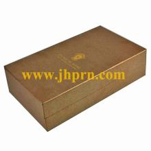 Cardboard champagne glass gift box