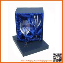 custom luxury champagne glasses with gift box