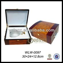 Wholesale Gift Boxes Champagne Wooden Wine Box
