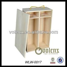 New Factory Hot Sale Custom Champagne Wooden Wine Box