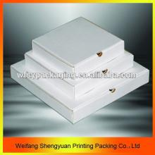 18inch custom cheap wholesale white carton pizza box