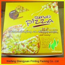 cheap  custom   pizza  box/ new design  pizza   boxes / pizza  packing box wholesale