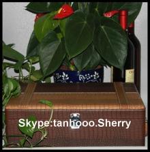 PU leather wine shipping boxes ,red wine box ,wood wine box