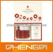 High quality guangzhou factory custom made fancy chocolate bar gift box packing (ZDCBS-A061)