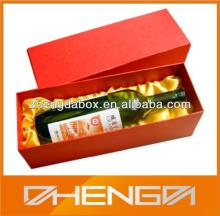 HOTSALE Customized Made-in-China Red Wine Wooden Box(ZDW13-H201)