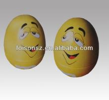 cute egg shape candy tin box for Easter day gifts