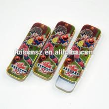 exqusite lovely chewing gum tin box, candy tin packaging tin box, metal tin box