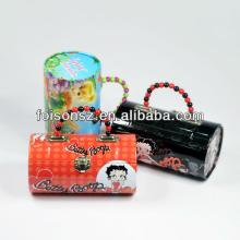 great candy packaging lunch tin box with handle for Betty Boop
