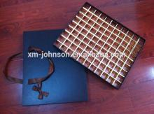 99 grid drawer type chocolate gift box with handle
