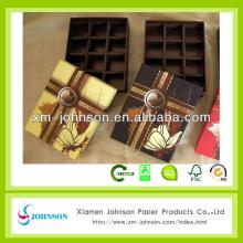 China manufacture wholesale chocolate bar box
