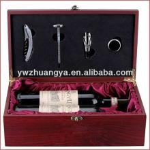 Red wine gift boxes wholesale, wine glass packing box, wooden boxes for wine bottles