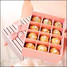 Paper craft box,handmade paper chocolate boxes