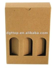 Champagne Glass Gift Corrugated Boxes