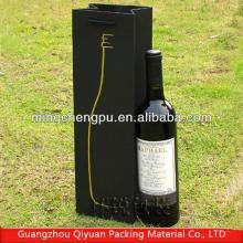 Black  Paperboard Red  Wine   Box