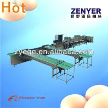 stainless steel 304  egg   cleaning  grading machine