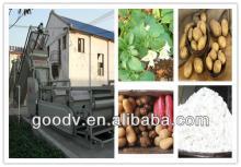 Late small investment potato starch machine
