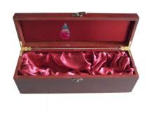 matt lacquer  wood   wine  box for red  wine