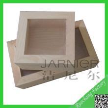 Hot sale customized wooden quran box,cinnamon wood box,custom perforated metal box