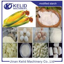 automatic high yield industrial Modified corn starch extruder