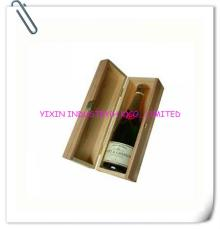 2014 Luxury Nature Color  Wooden   box  for  champagne