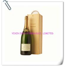 2014 Champagne & wooden gift box with sliding lid