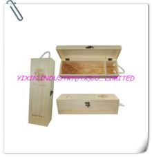 2014 Nature color wooden red wine case YIXING2119