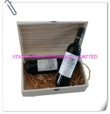 2014 Pine wooden red wine case for 2 bottles YIXING2168