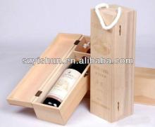 Custom wooden wine box red wine wooden box