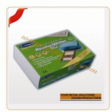 Customize corn starch packaging box  pvc   plastic  packaging box/ transparent  packaging sunglasses box/c