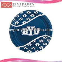 nice service Birthday Party Paper Plates biodegradable