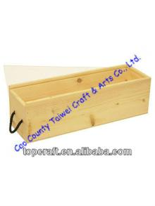 2013 Wooden Wine or Champagne Box Acrylic Lid 1x bottle for sale