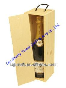 Find the Supplier of Wooden Wine or Champagne Box for 1x bottle(328 x 92 x 90)