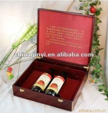 high quality red wine cardboard paper box