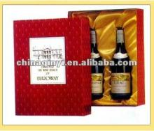 promotional printed red wine paper box