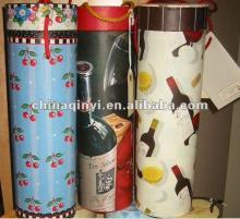Papaer red  Wine  Tube  Box ,tube  wine   box , paper   wine   box