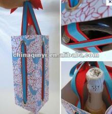 Fashional Design Customized Paper Red Wine Box