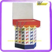 2014  Original   Design  Hot Selling Cardboard Corrugated POP Dump Bin Displays for Chocolate Bar Chopst
