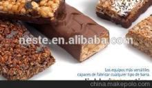 automatic chocolate deposit production lines chocolate bar making machine