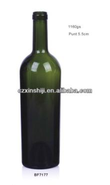 Bf7177 750ml red wine glass bottle products china bf7177 for Red glass wine bottles suppliers
