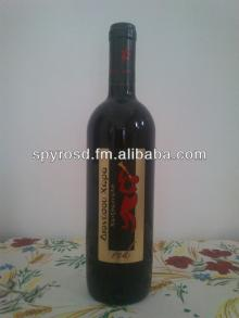 Greek Red Wine Dionysou Country 750ml