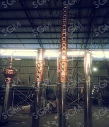 USA Hot Sales  Copper  vodka distillation  equipment / copper  distillation  equipment / copper  pot stills