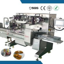 multi - function  tri servo marshmallow film packing machine made in china