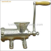 Cast iron Handle operating meat mincer, Manual Meat Grinder, meat mixer grinder
