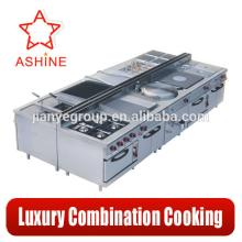 Luxury combination cooking  equipment / hotel  kitchen  equipment /reataurant  equipment
