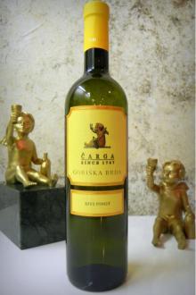 Pinot Grigio, quality Slovenian dry white wine