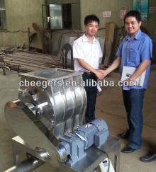 Bulk bag discharge systems & rotary feeder valve